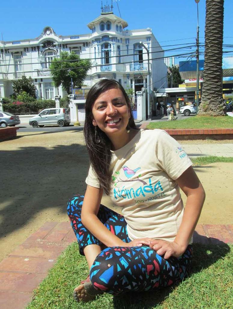 Daniela Badilla, periodista de profesión, ha dedicado su carrera al turismo y la sustentabilidad.