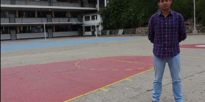 """Paul Betancourt del colegio Salesianos de Valparaíso: """"el reciclaje contribuye a la formación integral de los estudiantes"""""""