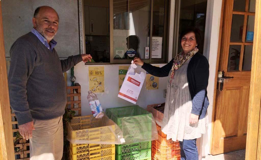 "El ""bichito"" del reciclaje llegó para quedarse en el hostal San Pedro de Viña del Mar"
