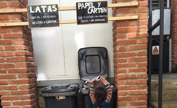 """Felipe Del Valle del Condominio Waddington: """"la gente cree que sabe reciclar, ese es el gran problema"""""""
