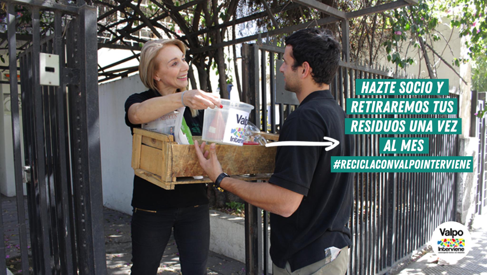 Más socios, menos basura: la nueva campaña de socios de ONG Valpo Interviene